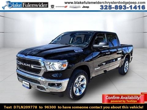New 2020 RAM All-New 1500 Lone Star 4x2 Crew Cab