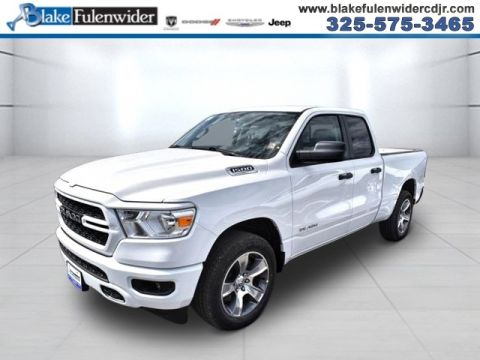 New 2020 RAM 1500 Tradesman 4x2 Quad Cab