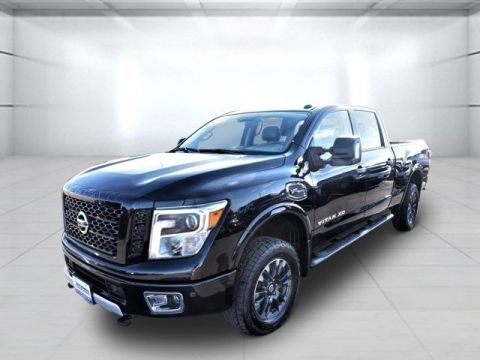 Pre-Owned 2017 Nissan Titan XD PRO-4X With Navigation & 4WD