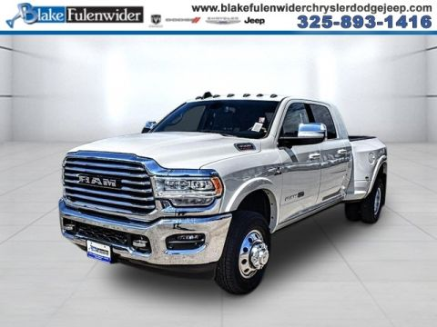 New 2020 RAM 3500 Laramie Longhorn With Navigation